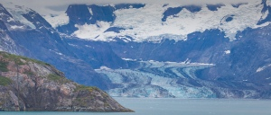 Johns Hopkins Glacier in Glacier  Bay